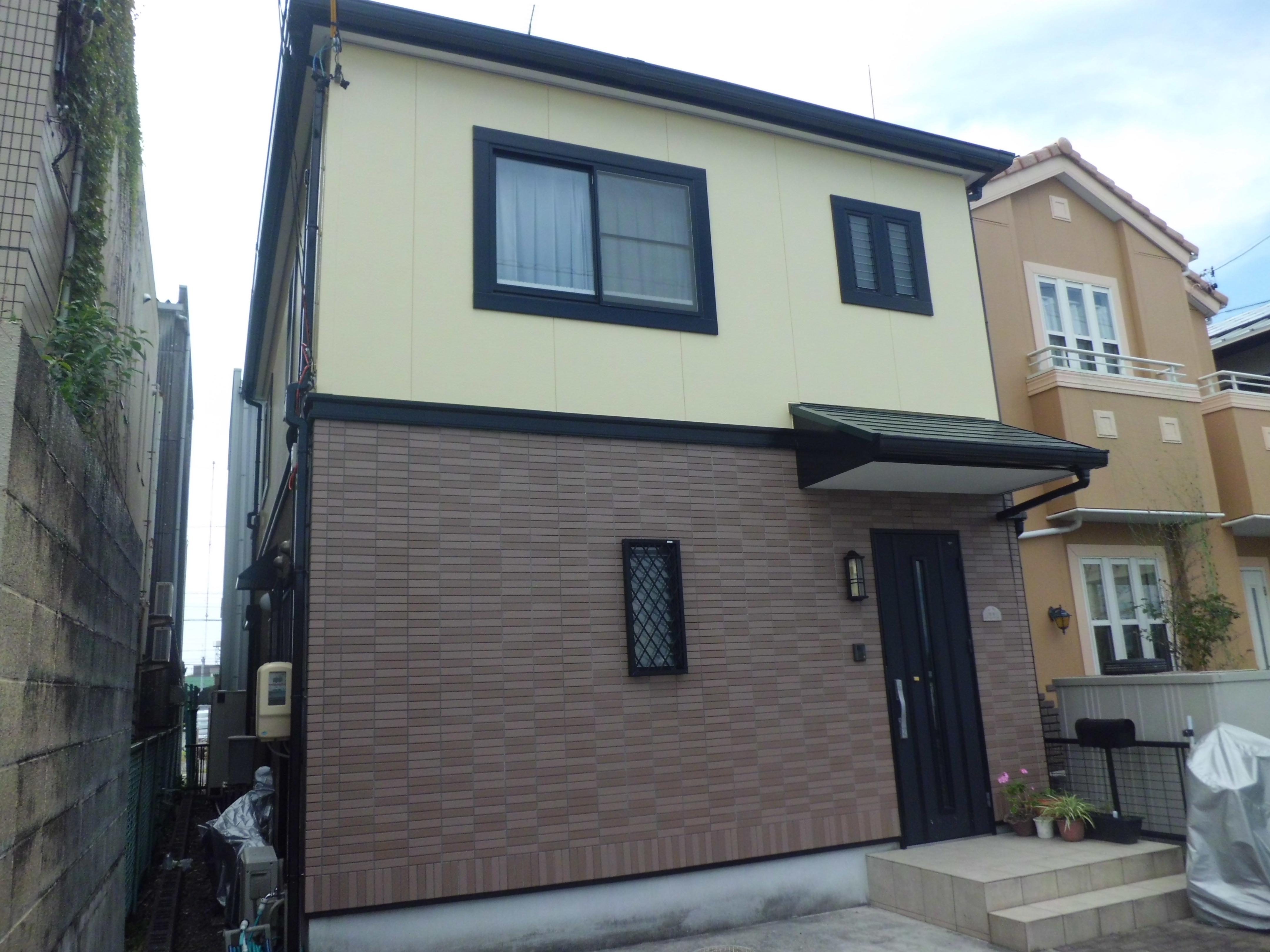 静岡市駿河区S様邸 クレバリーホーム 外壁屋根塗装リフォーム ...