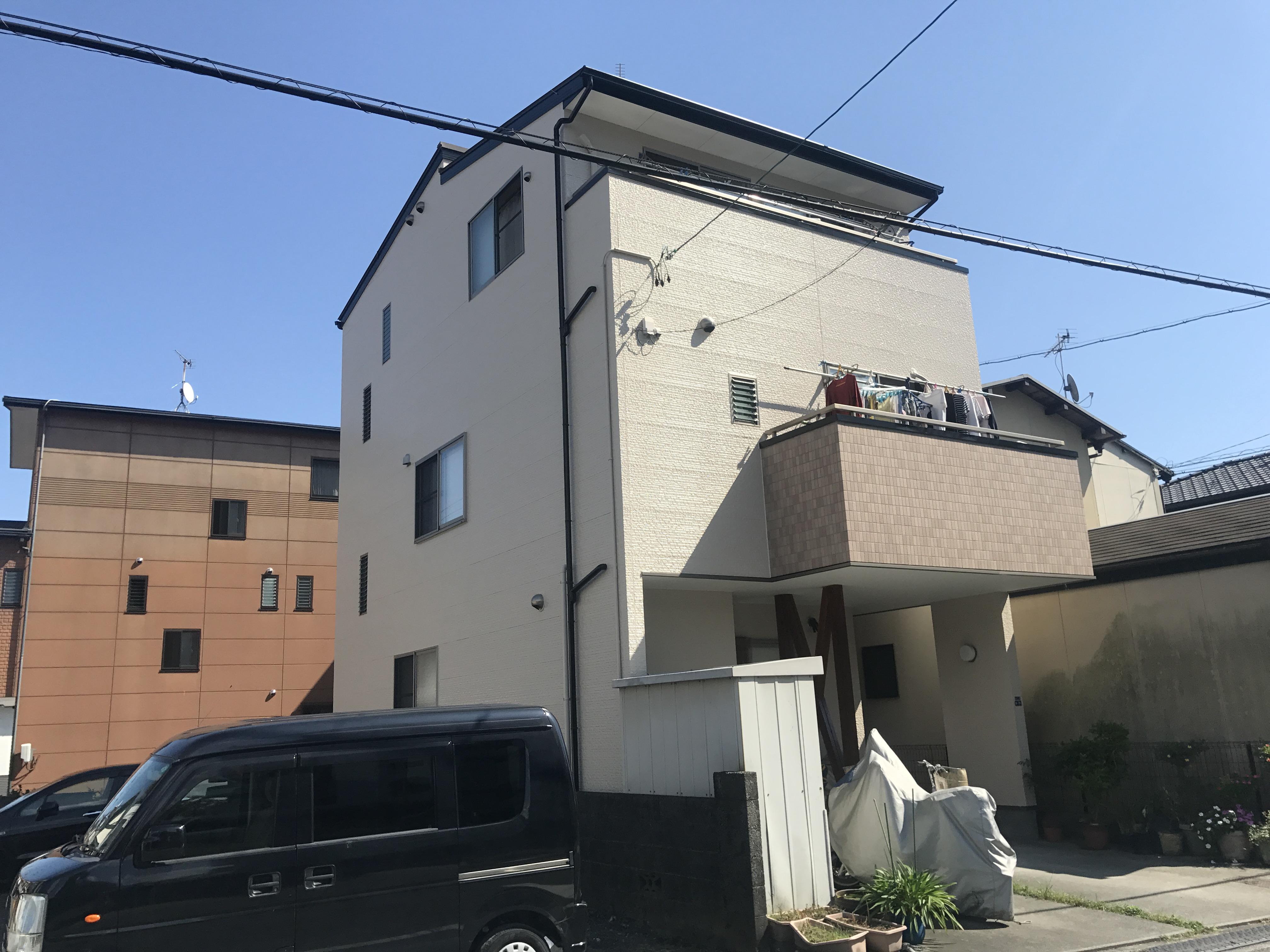 静岡市葵区 3階建て外壁塗装工事 – 地元静岡の塗装屋さん ...