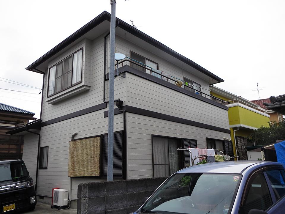 フジハウス 外壁・屋根塗装 帯板金工事