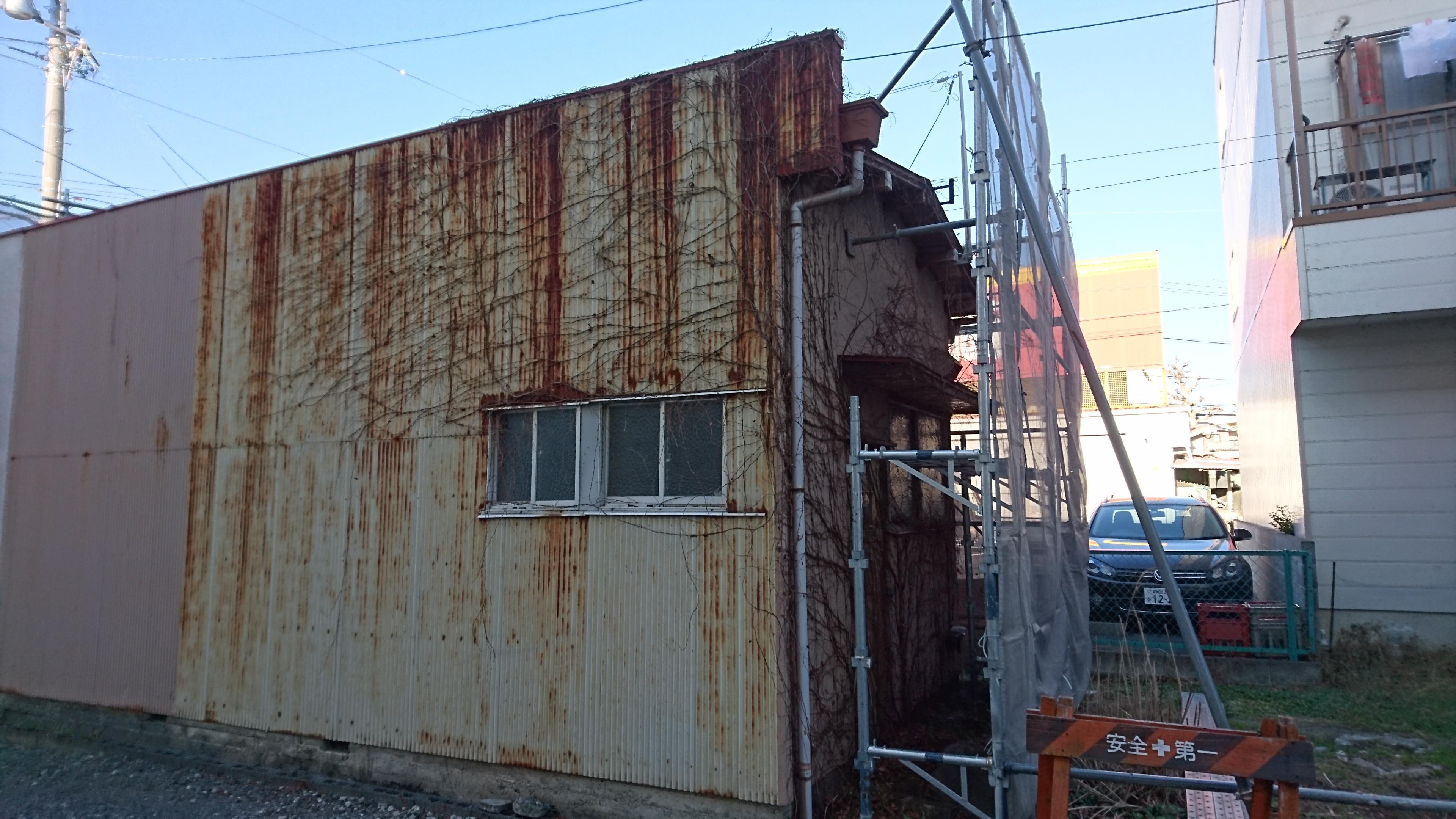建物 ツタ 除去