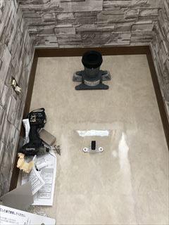 床材リフォームトイレ実例画像